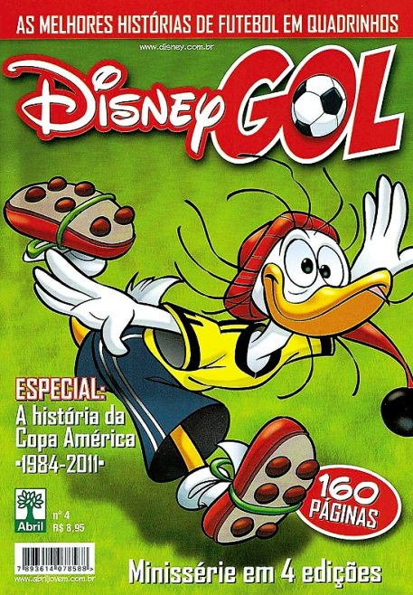 DISNEY GOL nº04 - ED. ABRIL